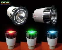 GU10 RGB LED Color Change Lamp Light с д.у.